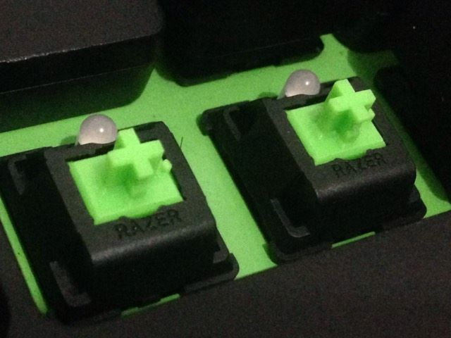 Switches Verdes de Razer