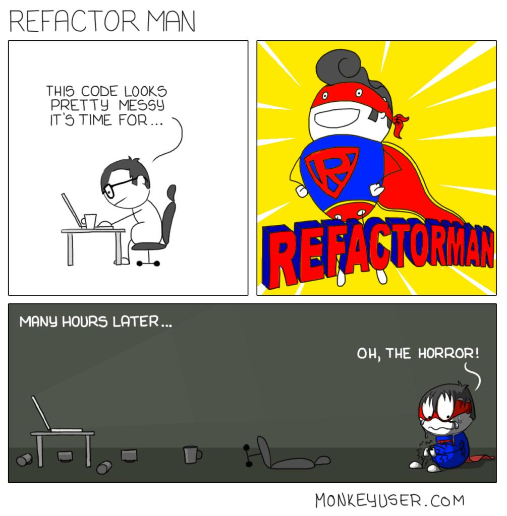 Refactor Man