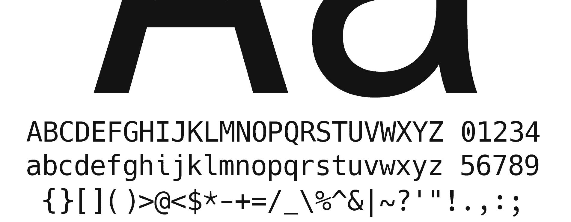 Tipografía Hack para Programar